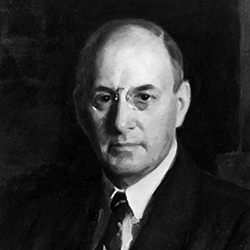 Henry Morgenthau Jr., first FCA governor, serving from May 27 to November 16, 1933