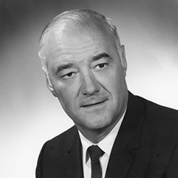 Edwin A. Jaenke, governor, March 1, 1969, to October 31, 1974