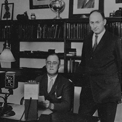 Presidential candidate Franklin D. Roosevelt and Henry Morgenthau Jr. (Franklin D. Roosevelt Presidential Library & Museum, 1931)