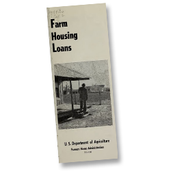 Brochure of U.S. Department of Agriculture, Farmers Home Administration, 1951.