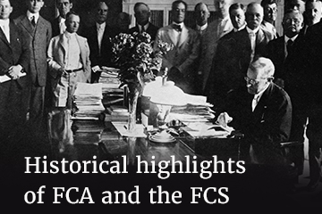 History of FCA and the FCS